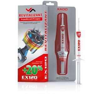 gel revitalisant XADO EX120 moteur essence