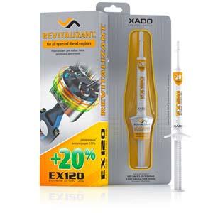 Gel revitalisant XADO EX120 moteur diesel