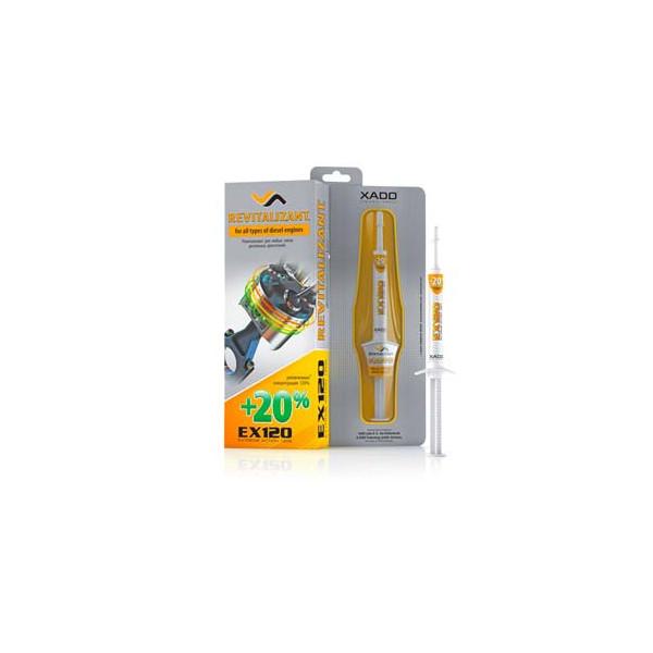 EX120 Gel revitalisant pour boîtes mécaniques