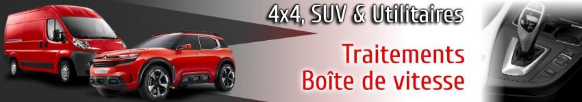 Traitements et additifs boite de vitesse pour 4x4 SUV et utilitaires