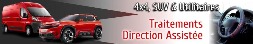 Traitements et additifs direction assistée pour 4x4 SUV et utilitaires