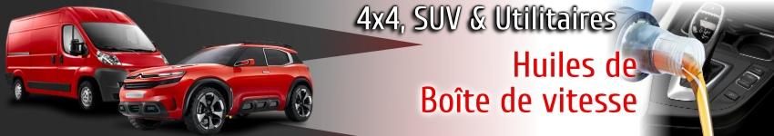 Huiles boite de vitesse pour 4x4 SUV et utilitaires
