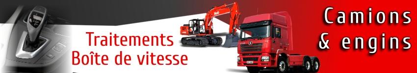 Traitements et additifs boite de vitesse pour camions et engins