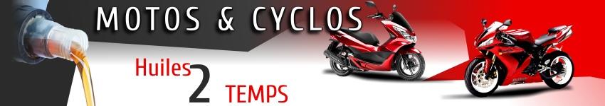 huiles haute qualité Xado pour motos et cyclos 2 temps