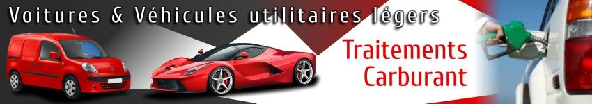 additifs et traitements mécanique pour traiter le carburant  de voiture