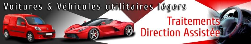additifs et traitements mécanique pour direction assistée  de voiture