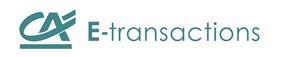 logo etransaction crédit agricole