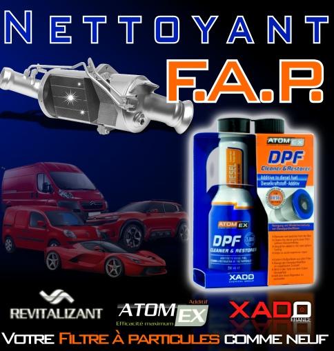 DPF Cleaner nettoyant fap