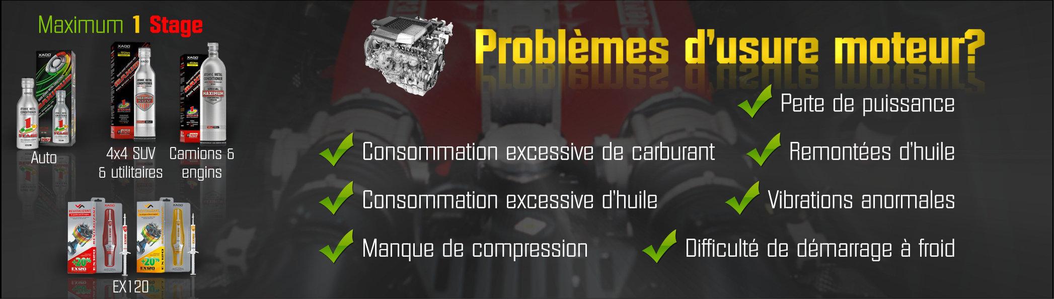 additifs moteur Xado